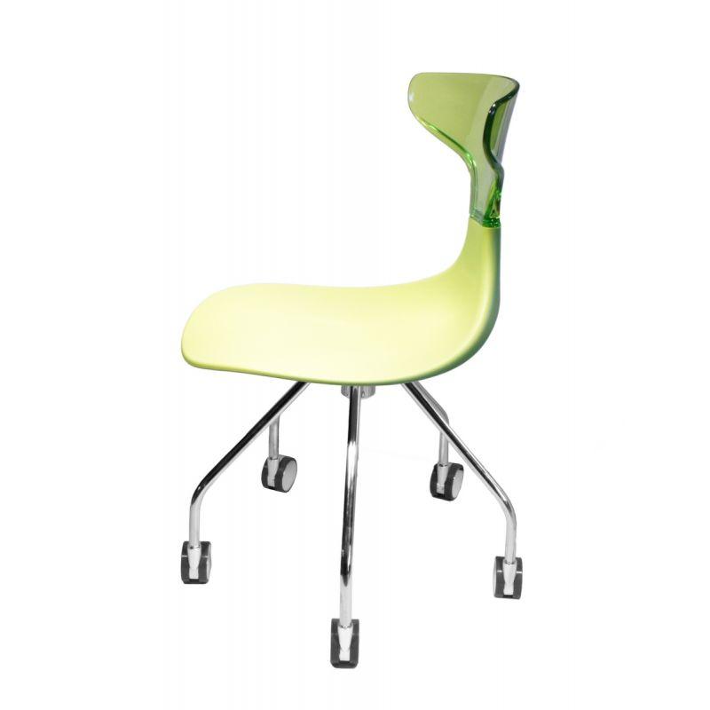 chaise punk a roulettes chaise design. Black Bedroom Furniture Sets. Home Design Ideas