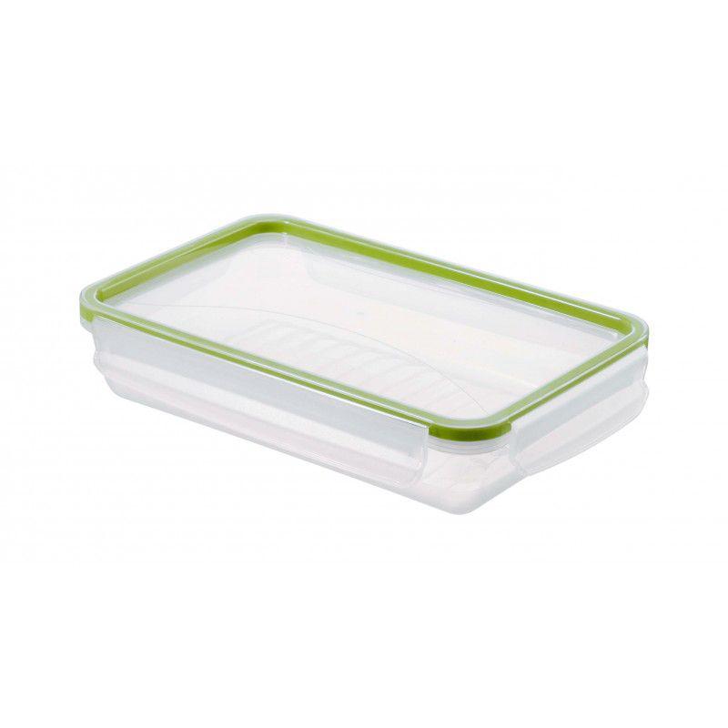 boite hermetique rectangle plate 1l 1000ml couvercle h 5cm. Black Bedroom Furniture Sets. Home Design Ideas