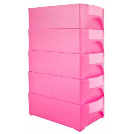 Starbox double hauteur boite de rangement empilable avec 2 poign es - Boite de rangement verticale ...